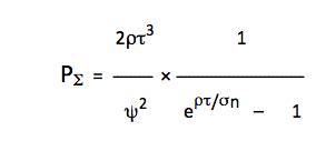 Формула для описания динамики пассионарной энергии по теории Гумилёва