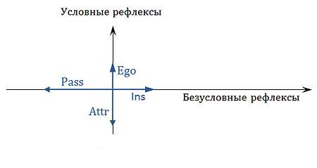 Классификация отдельной особи по пассионарно-аттрактивному принципу