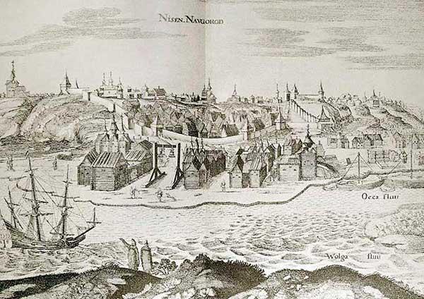 Н. Новгород. Из альбома Адама Олеария