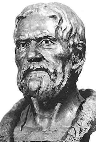 Скульптурная реконструкция выполнена по черепу мужчины, 12–13 вв.