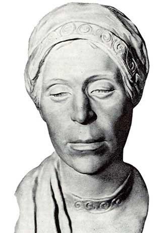 Скульптурная реконструкция по черепу женщины из городища Старая Рязань,  12–13 вв.
