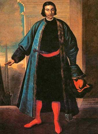Портрет князя Репнина. Парсуна