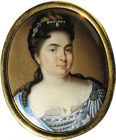 А.Г. Овсов. Портрет Екатерины I. Середина 1720-х годов