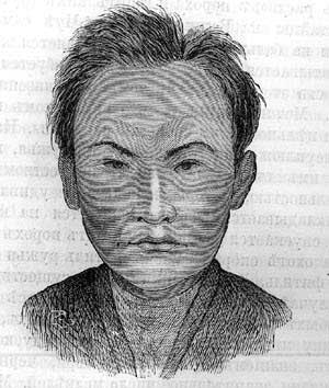 Н.М. Ядринцев. Монгольский тип черневых татар, 1885