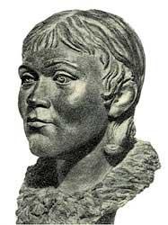 Реконструкция по черепу неолитической женщины из Караваихи, эпоха  Бронзы