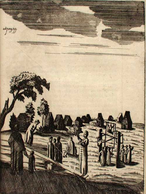 Бернгард Таннер. Москва. Забавы и праздники нецерковные, 1678