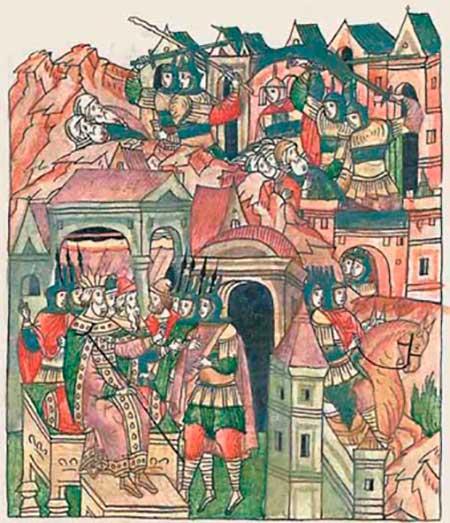 Лицевой летописный свод царя Ивана IV Грозного, Том 6. Казнь иудейских первосвятителей
