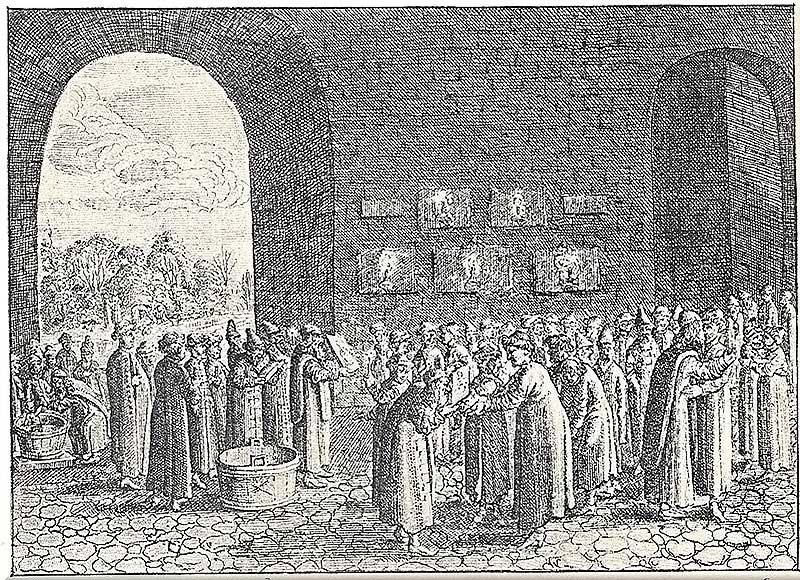 Крестины. Из Книги Олеария, [17.33]