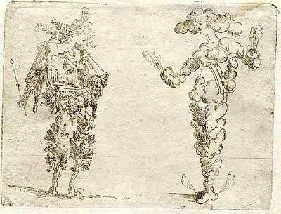 Джованни Брачелли. Earth and Air – 7 –  Земля и Воздух, 1624