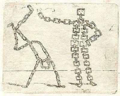 Джованни Брачелли. Round- and square-chain figures – 52 – Иди прочь! Ты не моей крови!