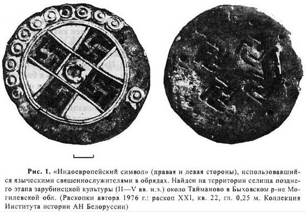Индоевропейский символ. Л.Д. Поболь в [20.13]