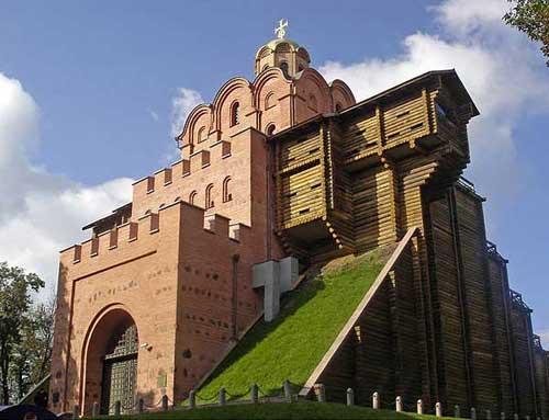 Золотые ворота в Киеве, XX век