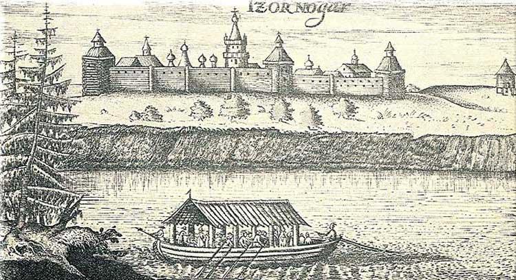 Чёрный Яр. Альбом Адама Олеария, 1634-1635