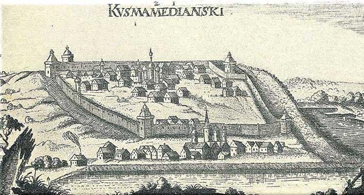 Козьмодемьянск. Альбом Адама Олеария, 1634-1635