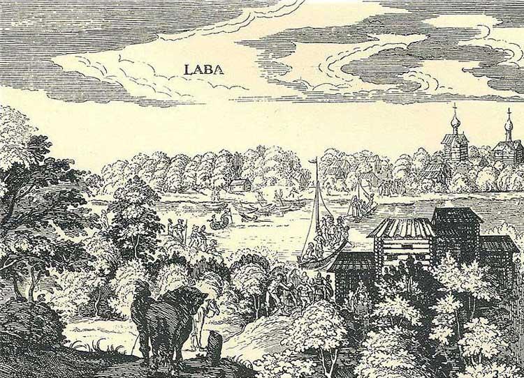 Лава. Альбом Адама Олеария, 1634-1635