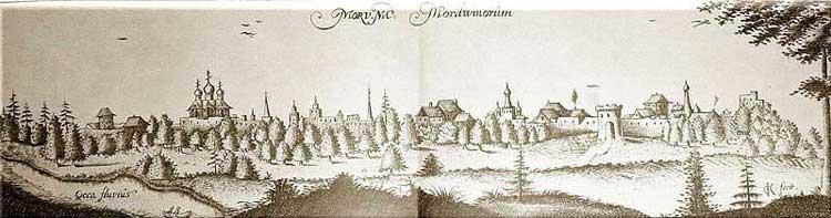 Муром. Альбом Адама Олеария, 1634-1635