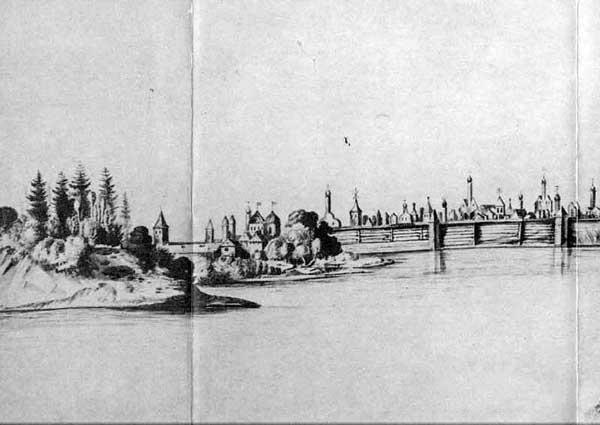 Новгород 1. Николаас Витсен, Австрийская Национальная библиотека