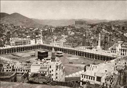 Офтальмолог из Ирака Абдулгафар Аль-Багдади. Кааба, 1885 год, http://www.ansar.ru/world/2012/10/29/34622