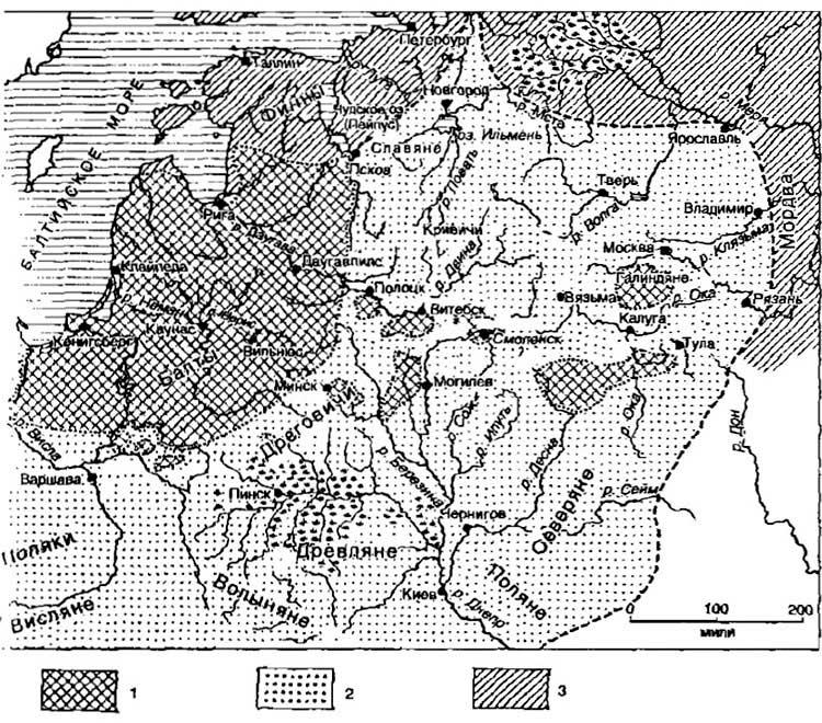 Мария Гимбутас. Балты после свавянской экспансии (X–XII)