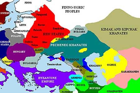 Печенеги и соседние территории, около 1015, http://ru.wikipedia.org/wiki/%CF%E5%F7%E5%ED%E5%E3%E8