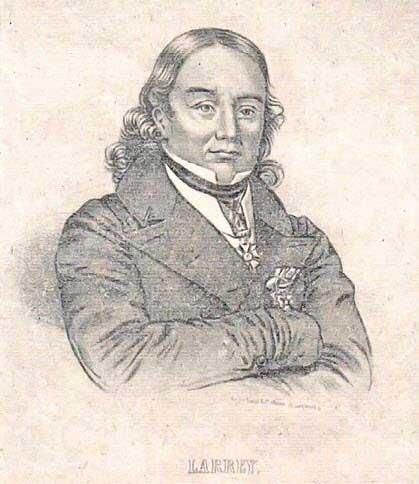 Д.Ж. Ларрей – главный хирург Наполеона