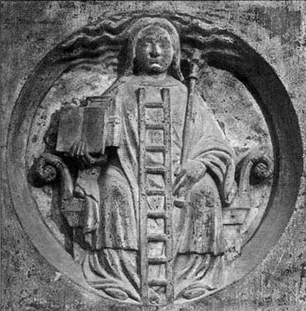 Фулканелли. Тайна соборов, http://coollib.xyz/b/182168  – II. Алхимия. Барельеф большого портика собора Нотр-Дам де Пари