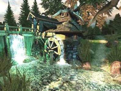 Водяная мельница с наливным колесом, http://ukhtoma.ru/plotina3.html