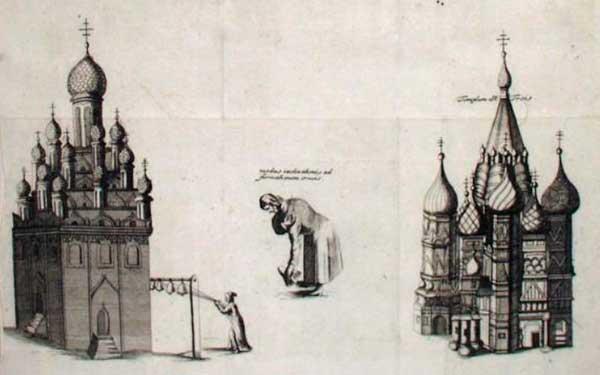 Бернгард Таннер. Москва, Кремль, 1678. Иллюстрация к изданию