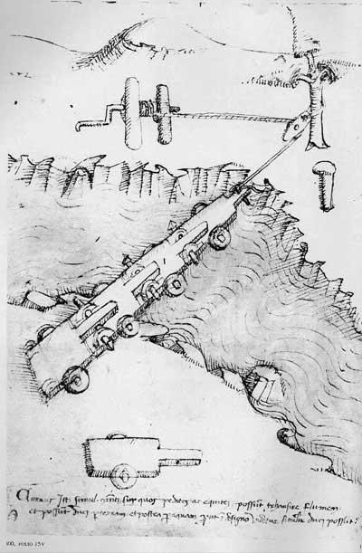 Мариано Таккола, 1453. Машины, ч.1