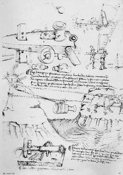 Мариано Таккола, 1453. Машины, ч.3