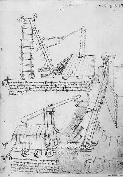 Мариано Таккола, 1453. Машины, ч.5