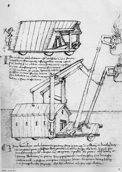 Мариано Таккола, 1453. Машины, ч.6