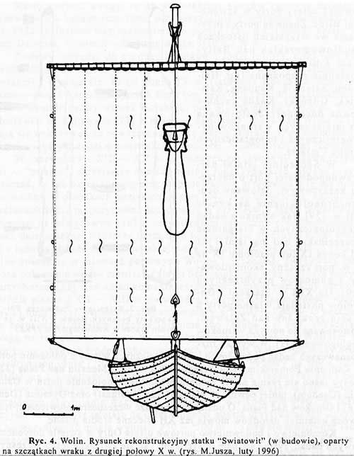 Владислав Филипoвяк. Реконструкция судна «Святовит», вторая половина X века
