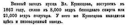 Н.А. Абрамов. Алматы-Верное. Винокурни, 1867
