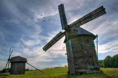 Ветряные мельницы на Украине, http://ukhtoma.ru/plotina2.html