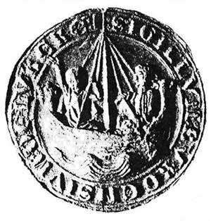 Е.Р.  Сквайрс, С.Н. Фердинанд. Печать г. Любека, 1280
