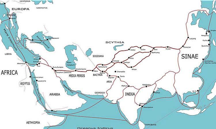 Древние торговые пути. Как считается