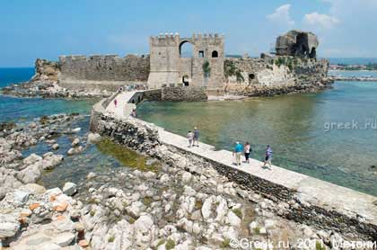 Крепость Метони, http://www.greek.ru/tur/guide/peloponnesus/methoni/