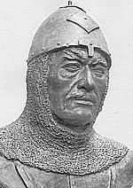 Скульптурная реконструкция, выполненная по черепу половца,  http://istfak.org.ua/novini/78-korisni_statti/711-khan-boniak-polkovodets-stepy