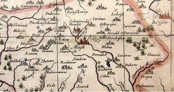 Радзивилловская карта. http://www.belarus.by/rel_image/911