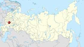 Расположение Ряжска, как города в 120 км от Рязани, входившего в Большую Засечную черту Московии