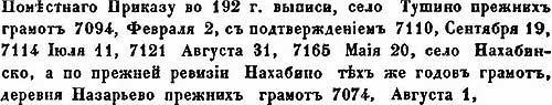 Приписные к Троице-Сергиевой лавре монастыри и отчины, XVIII - ч.2