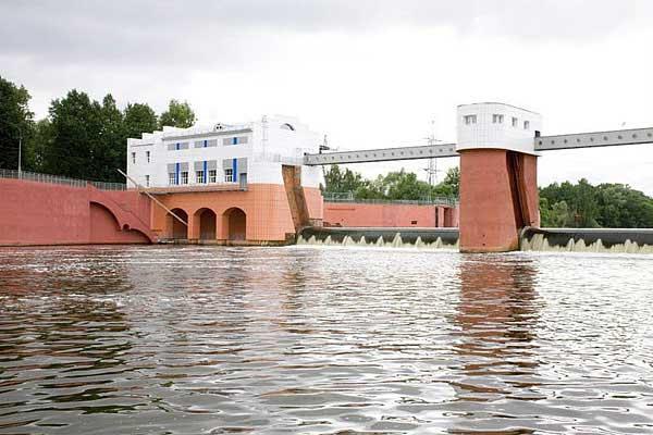Москва. Рублёвская станция водоподготовки