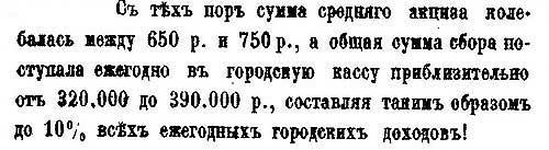 Введение трактирного акциза в 1863 году и результаты, Москва – ч.2
