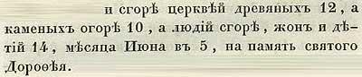 Летопись Авраамки, 1385. Кроме церкви святой Троицы Псков сгорел весь. В то же лето, 14 июня, в Петрово говение сгорела вся Торговая сторона... погибло 70 человек