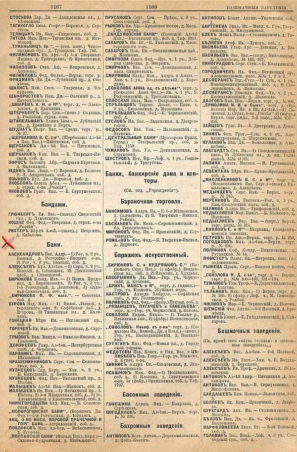 Городские бани, 1901 г.- по материалам Библиотеки Гумер