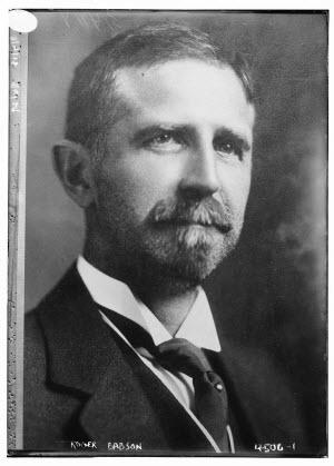 Roger Ward Babson in 1918. Википедия