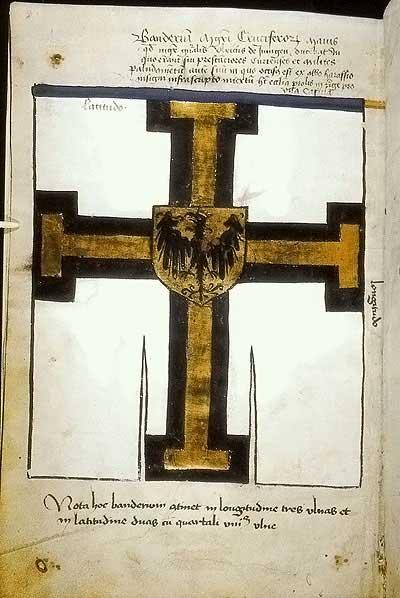 Рыцарские ордена. Прусские знамена 1410-1431: Большое знамя Великого магистра
