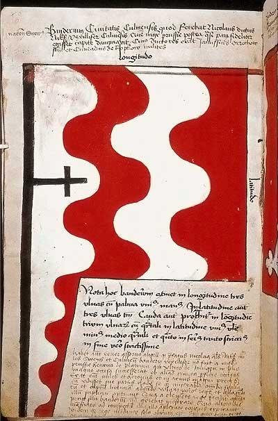 Рыцарские ордена. Прусские знамена 1410-1431: Знамя града Кульма