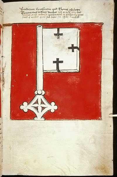 Рыцарские ордена. Прусские знамена 1410-1431: Знамя казначея Ордена